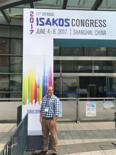 Dr Lawrie attends ISAKOS conference June 2017 in Shanghai China